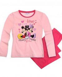 Пижама Минни с Микки Маусами розовая