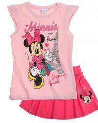 Комплект Минни Маус розовый с юбкой