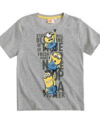 футболка миньоны серая купить в украине