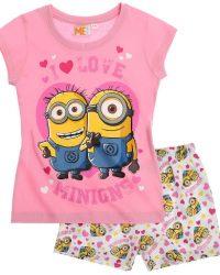 пижама для девочки с миньонами, посипаками
