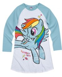 Ночная рубашка мой маленький пони, nochnaya rubashka My Little Pony